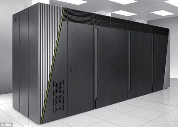 """美国IBM公司研制的超级计算机""""红杉"""",问鼎世界最快超级计算机桂冠。""""红杉""""将用于进行模拟,帮助延长核武器的寿命"""